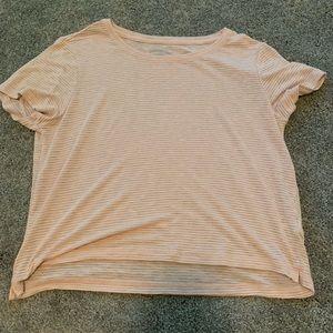Aeropostale soft pink shirt size small